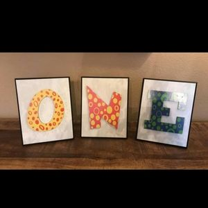 First Birthday 🎂 Wall Plaques